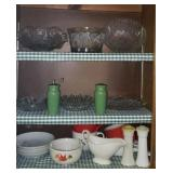 Tupperware, Warwick,  glass serving pieces