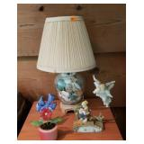 Estate lot Lamp Bird & More
