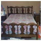 Beautiful full size bed