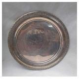 Prelude sterling silver serving platter