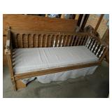 Beautiful Mission Style Wooden Bench