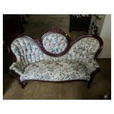 Child Size Victorian Style Reproduction Couch
