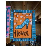 Super Cute HEAVEN Painting on Canvas