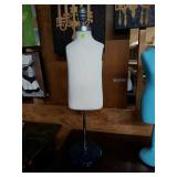 Vintage Mannequin stand with base