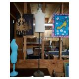 Vintage Tall Mannequin stand with base