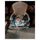 Beautiful Cane Back Captain Chair