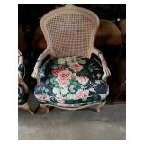 Beautiful Cane Back Captain Chair.
