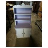 Vintage Child Size Primitive Cabinet