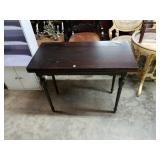 Vintage Swivel Fold Out Game Table
