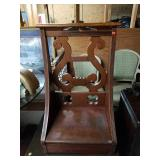 Antique Cathedral Style Prayer Bench Prie Dieu
