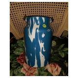 Beautiful Splattered Enamel Ware Pot