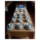 79 PC set of Silver Key Noritake China