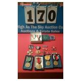 Misc lot of military medals