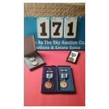Lot of 4 military medals