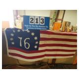 Vintage Bennington Flag 1776 Awesome Reproduction
