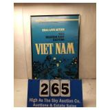 Framed Real Live Action Vietnam Poster