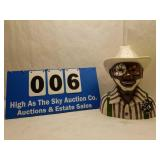 Vintage Black Americana Kayes Kreations Cookie Jar