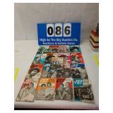 Lot of 17 - 1969 Vintage Jet Magazines