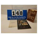 """Lot of SIGNED """"A Season for Justice"""" book & more"""