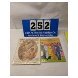 Vintage lot of 2 Black Americana Memorabilia Books