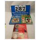 3 Black Americana Dolls, Cookie Jars, Mem. Books