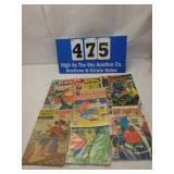 Lot of 6 Vintage Black Americana Comic books