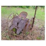 Antique Paddle Wheel Cultivator