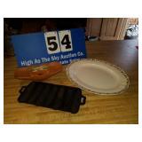Mccoy, cast iron, platter
