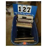 Tote Full of A TON of Records & 45