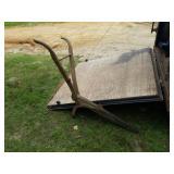 Antique Plow Frame