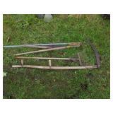Estate lot of old Farm Tools