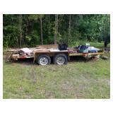 Heavy Duty Tandem Axle Trailer