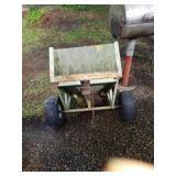 Green small trailer