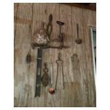 Misc lot of primitive tools