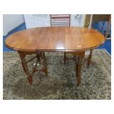 Solid Wood Drop Leaf Table with Butterfly Leaf