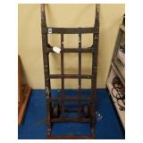 Vintage Antique heavy duty steel hand truck