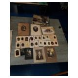 Awesome RARE Tin box with tin type photos