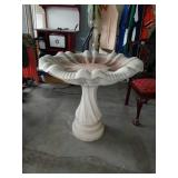 Large Beautiful Concrete Bird Bath