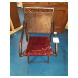 Antique Victorian Folding Chair