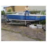 Fanatic Catalina 22 ft Boat/Trailer