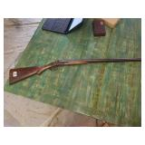 Damascus Double Barrell Rabbit Earred Shot Gun