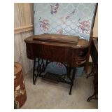 Vintage Standard Sewing Machine & Table