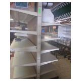 6 Tier Double Sided Gondola Shelf 40' Long-7' Tall