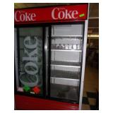 True Double Door Coke Box 79 x 54 x 30