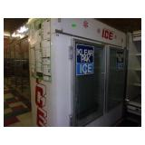 Hussman Double Door Ice Box