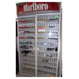 Lighted Cigarette Display Cabinet 82 x 50 x 15