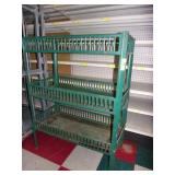 1950 Green Embossed 3 Tier Frito Rack
