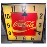 Lighted Coke Clock - Works - 40