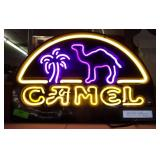 Camel Neon Sign - New in Box-Works-16 x 24