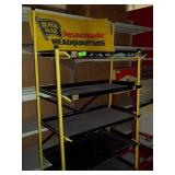 "5 Tier Black Flag Rack - 64"" x 36"" x 18"""